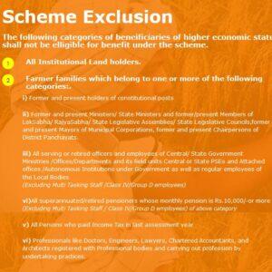 pm-kisan-samman-nidhi-yojna-2020-scheme-exclusion