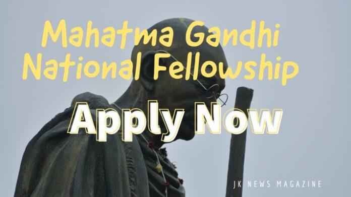 Mahatma-Gandhi-National -Fellowship